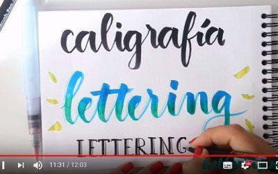 Curso de lettering online. Lección 1: Diferencias entre caligrafía y lettering