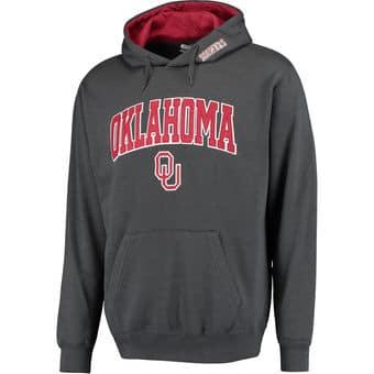 Sudadera Oklahoma lettering block college universidad