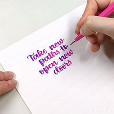 Caligrafía con rotuladores Pentel Brush Sign Pen Touch