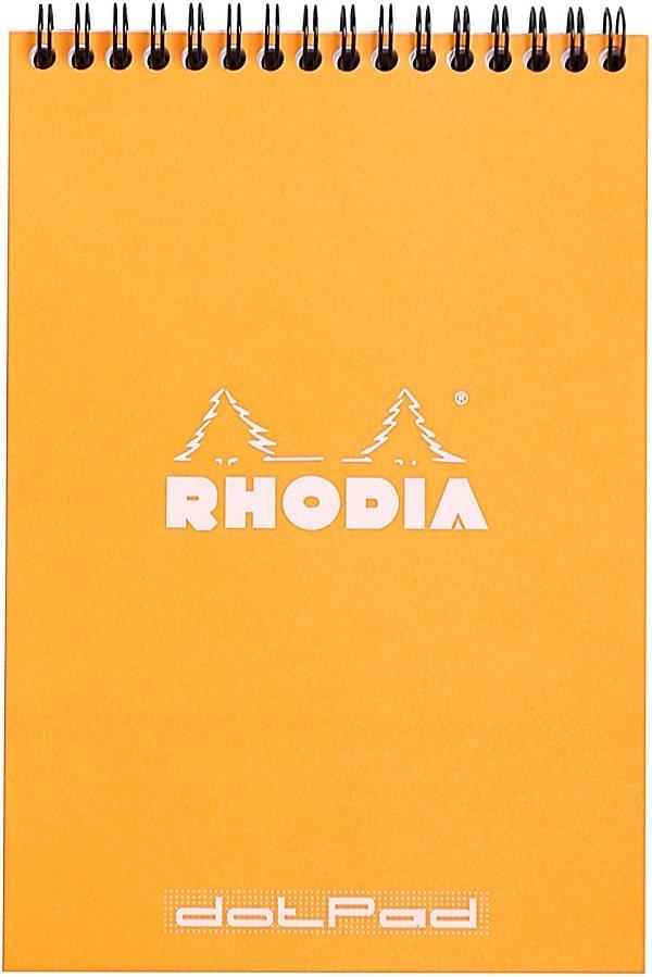 Comprar cuaderno lettering Rhodia A5 punteado