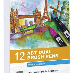 Comprar rotuladores lettering Tombow Dual Brush 12 colores