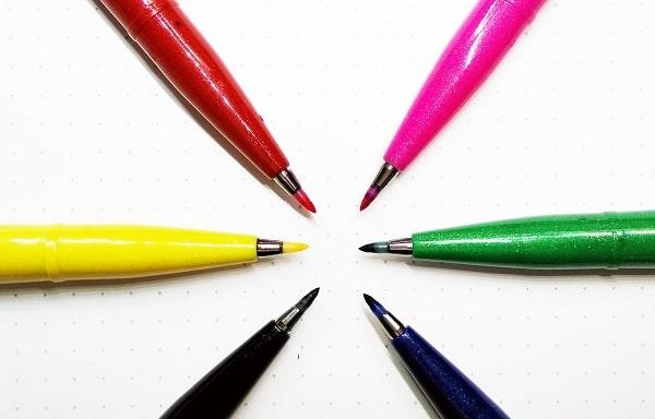 Review y Opinión sobre los Rotuladores Pentel Brush Sign Pen Touch para lettering y caligrafía