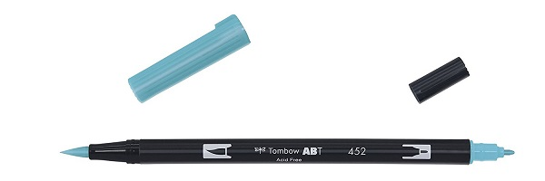 Rotuladores lettering Tombow Dual Brush azul pastel