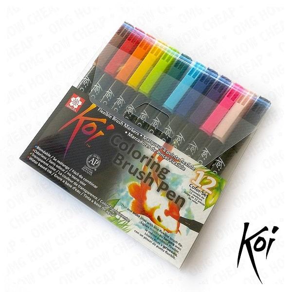 Comprar rotuladores Koi Sakura 12 colores