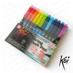 Comprar rotuladores Koi Sakura 24 colores