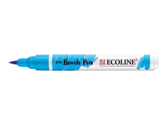 Rotulador para lettering Royal Talens Ecoline Brush Pen Azul