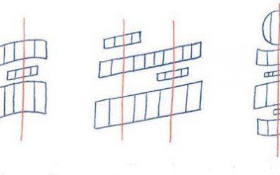Plantillas para la composición en lettering