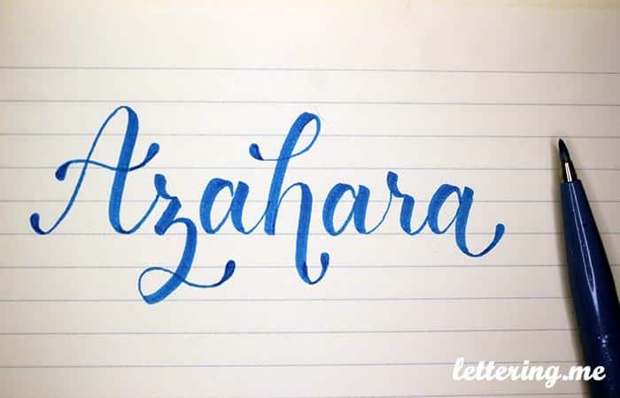Truco para mejorar el lettering dibujando gotas o lágrimas