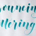 Bouncing letters o Bouncing lettering: ¿Cómo se hace?
