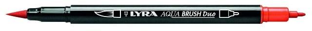 Rotulador Lyra Aqua Brush rojo