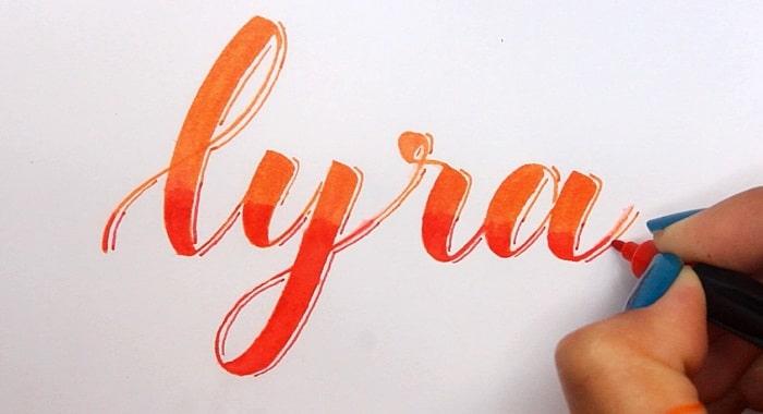 Review rotuladores Lyra Aqua Brush sombras