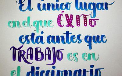 Frases inspiradoras para practicar lettering