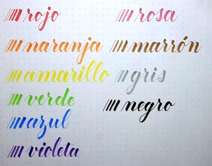 Rotuladores Tombow Fudenosuke 10 colores