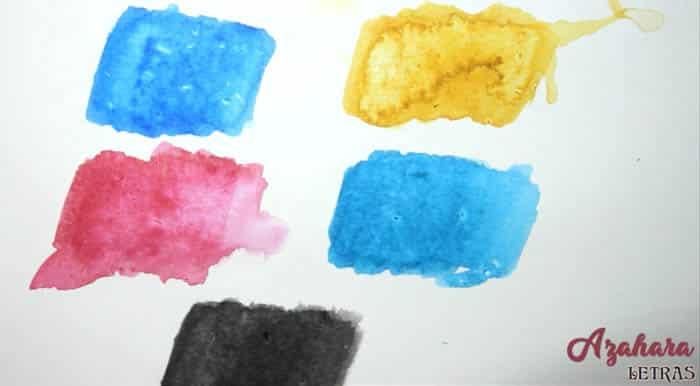 Resultado rotuladores acuarela Albrecht Durer Watercolor Markers