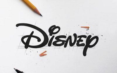 Hand Lettering de Películas Disney