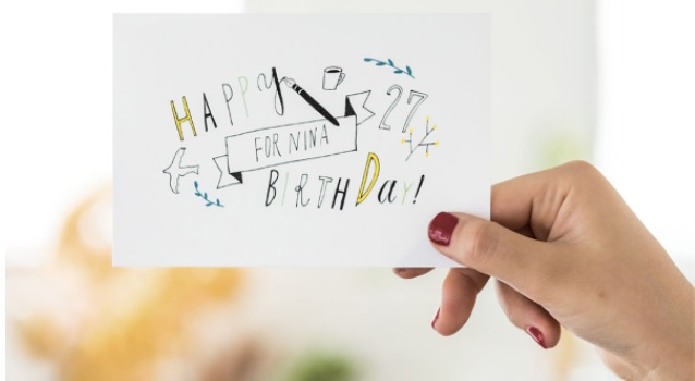 Hand lettering con pluma