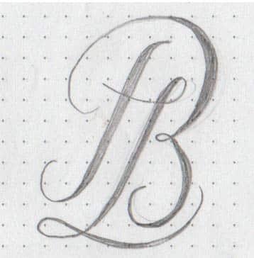 Boceto sello lacre lápiz